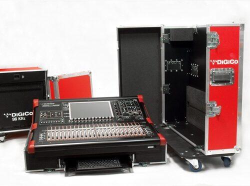 Skrzynie transportowe DIGICO SD9 + stagebox
