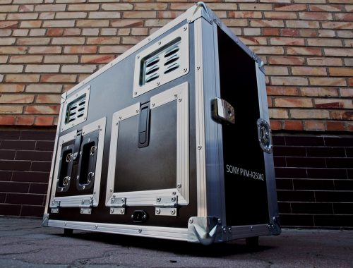 Flight Case na monitor broadcastowy SONY PVM - A250