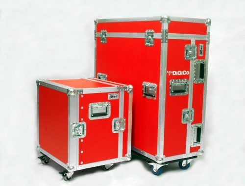 Flight case DIGICO SD9 + stagebox